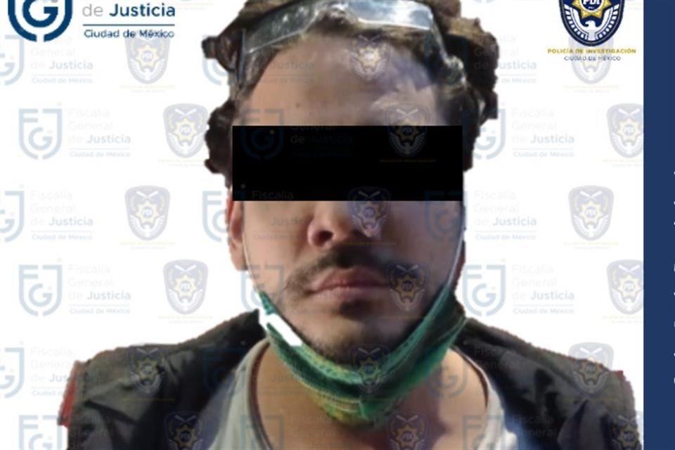 La Fiscalía informó que el influencer fue ingresado al Reclusorio Preventivo Varonil Oriente, luego de su aprehensión en la alcaldía Coyoacán.